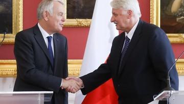 """13-06-2016 15:58 """"Cierpielibyśmy z tego powodu"""". Szefowie MSZ Polski i Francji o Brexicie"""
