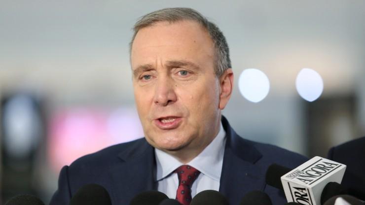 Schetyna: przez politykę polskiego rządu Polska będzie na marginesie UE