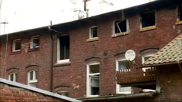 Pożar budynku w Szczecinie. Troje dzieci trafiło do szpitala