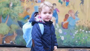 24-03-2017 20:27 4-letni książę George pójdzie od września do szkoły