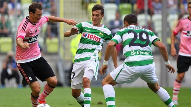 Lechia Gdańsk przegrała 1:2 z Juventusem w Super Meczu