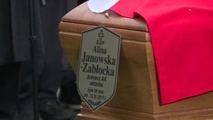 W Warszawie pożegnano Alinę Janowską