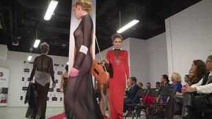 Ubrania dla odważnych kobiet - pokaz kolekcji Łukasza Verry