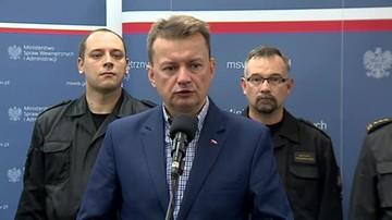 Błaszczak: w nawałnicach najbardziej ucierpiały woj. lubuskie i wielkopolskie