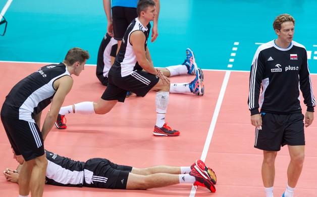 Gramy o finał! Polacy trenują przed meczem z Niemcami