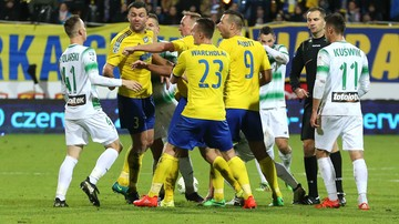2016-10-31 Legia Gdansk i Aria Gdynia. Kompromitacja hiszpańskiej gazety