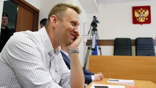 Nawalny oskarża Putina. Sąd zarejestrował pozew