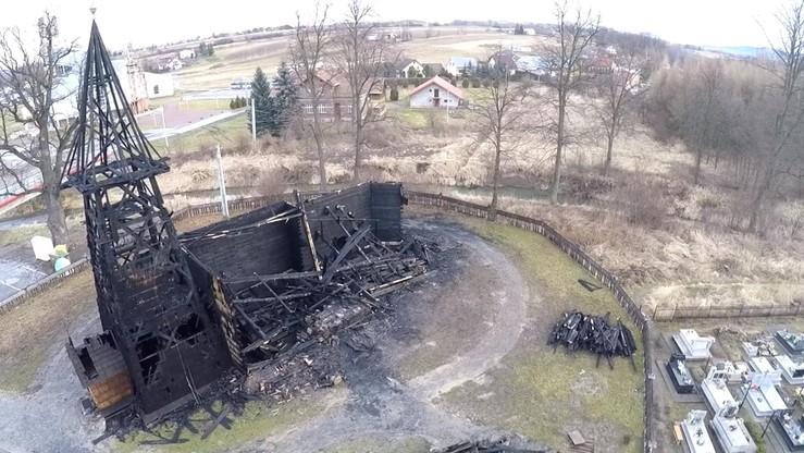 Małopolskie: spłonął zabytkowy kościół w Libuszy