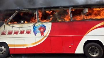19-07-2016 09:58 Tajwan: autokar w płomieniach. 26 ofiar śmiertelnych