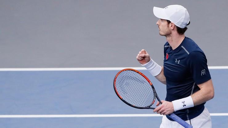 ATP w Paryżu: Murray blisko awansu na lidera rankingu
