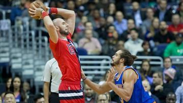 2016-11-20 NBA: Dziewiąta porażka Wizards, 10 punktów Gortata