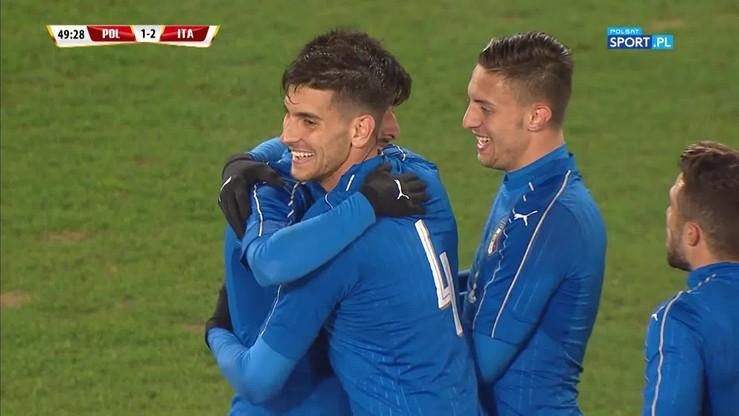 Polska U-21 - Włochy U-21 1:2. Gol Benassiego