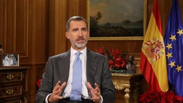 Król Hiszpanii wzywa parlament Katalonii do respektowania pluralizmu