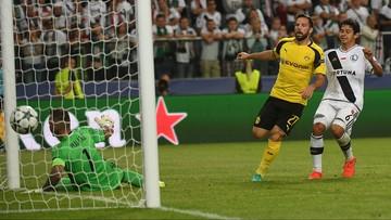 14-09-2016 23:08 Dotkliwa porażka. Legia przegrała z Borussią 0:6
