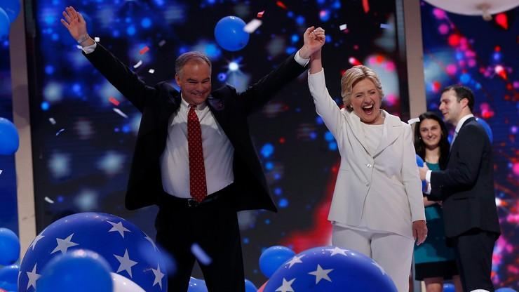 Clinton oficjalną kandydatką Demokratów w wyborach prezydenckich