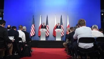 """06-07-2017 11:16 """"W Polsce panuje absolutna wolność, problemy były podczas poprzednich rządów"""". Prezydent Duda o mediach"""