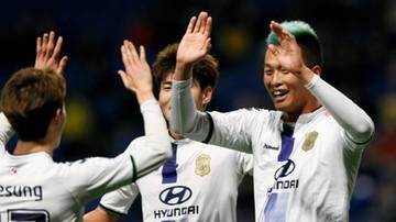 2016-12-14 Klubowe Mistrzostwa Świata: Koreański Jeonbuk Motors na 5. miejscu