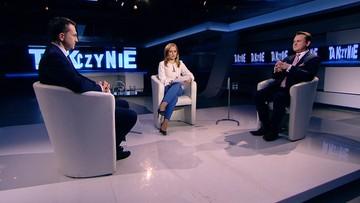 """2017-02-20 """"Politycy PiS są mentalnie poza Unią Europejską"""". Poseł Szłapka w programie """"Tak czy Nie"""""""