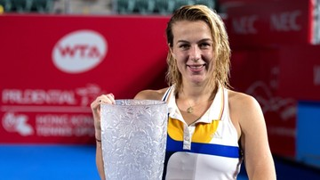 2017-10-15 WTA w Hongkongu: Triumf Pawliuczenkowej