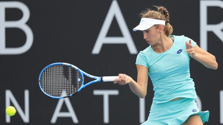 WTA w Hobart: Broniąca tytułu Mertens w półfinale