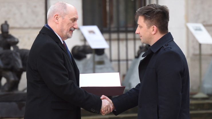 Dworczyk: moim zadaniem w MON m.in. wsparcie Wojsk Obrony Narodowej