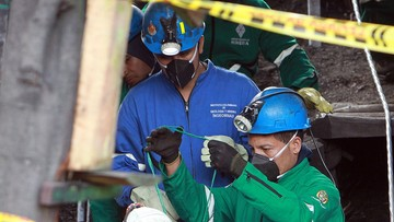 25-06-2017 06:25 Eksplozja metanu w kolumbijskiej kopalni. Kilkanaście osób nie żyje