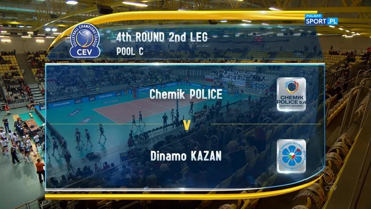 Chemik Police – Dynamo Kazań 0:3. Skrót meczu