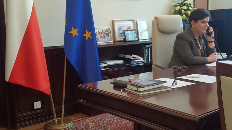 Szydło: umówiłyśmy się z Merkel na konsultacje przed szczytami unijnymi