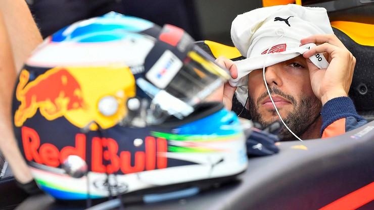 Formuła 1: Ricciardo najszybszy na piątkowych treningach