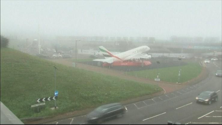 Mgła przyczyną kłopotów europejskich lotnisk