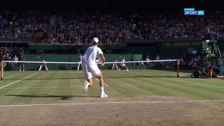 Fenomenalne minięcia Federera