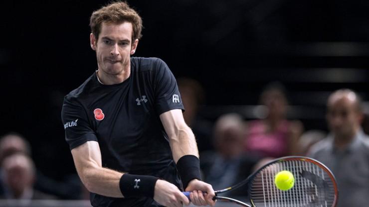 Turniej ATP w Paryżu: Murray pierwszym finalistą