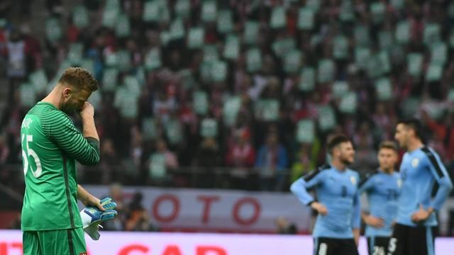 Polska - Urugwaj 0:0. Pożegnalny mecz Artura Boruca