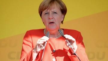 30-08-2017 18:53 Spotkanie Merkel z Junckerem. Kanclerz zapowiadała, że jednym z tematów ma być sytuacja w Polsce