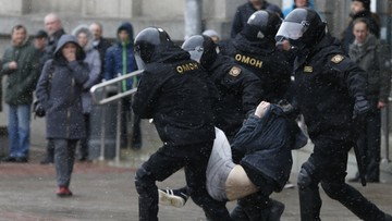 26-03-2017 08:13 MSZ apeluje o zaprzestanie przemocy na Białorusi