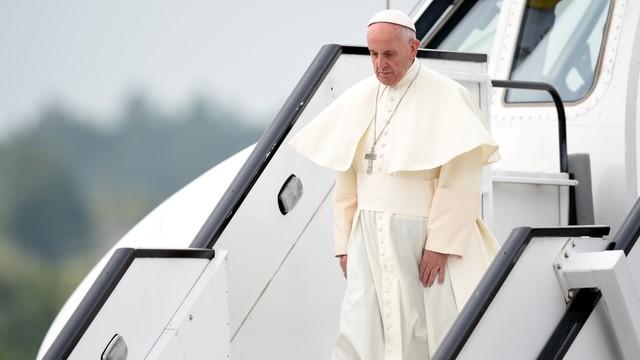 Papież Franciszek wylądował w Polsce