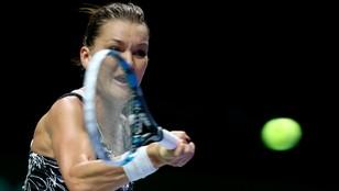 WTA Finals – Radwańska odpadła w półfinale po porażce z Kerber