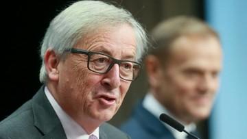 10-03-2017 16:03 Juncker: nie chcemy nowej żelaznej kurtyny w Europie