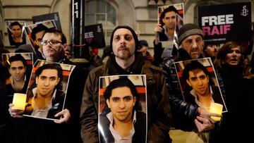 29-10-2015 12:50 Skazany bloger z Arabii Saudyjskiej z Nagrodą Sacharowa