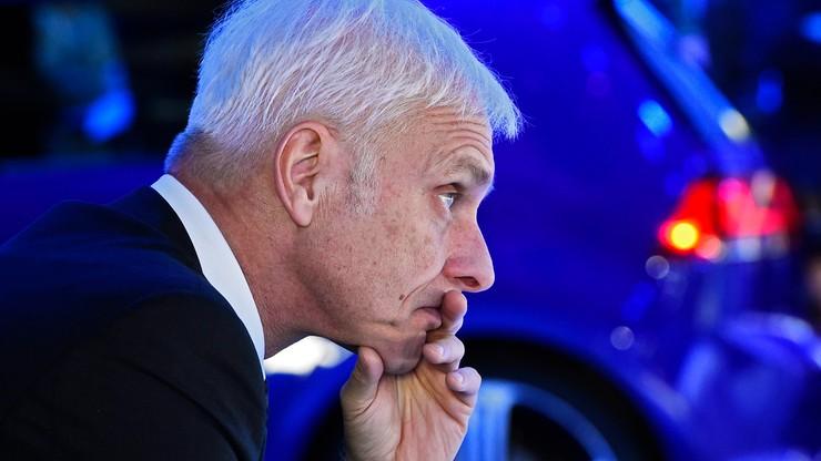 Szef Volkswagena przeprasza Amerykanów