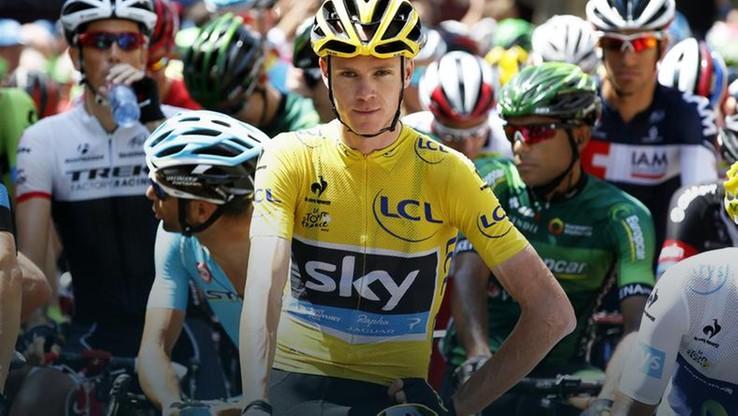 Zwycięzca Tour de France miał wypadek podczas treningu
