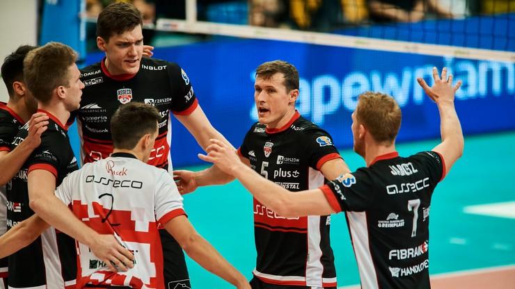 PlusLiga: Espadon Szczecin - Asseco Resovia Rzeszów. Transmisja w Polsacie Sport