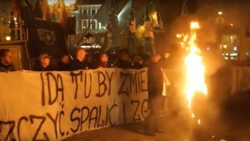 25-02-2016 14:21 Zarzut dla mężczyzny, który spalił kukłę Żyda na wrocławskim Rynku