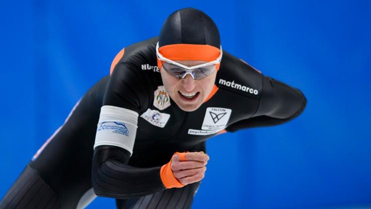 ME w łyżwiarstwie szybkim: Czerwonka szósta na 1500 m
