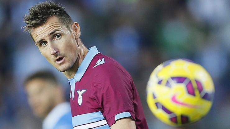 Klose rozczarowany swoją sytuacją w Lazio