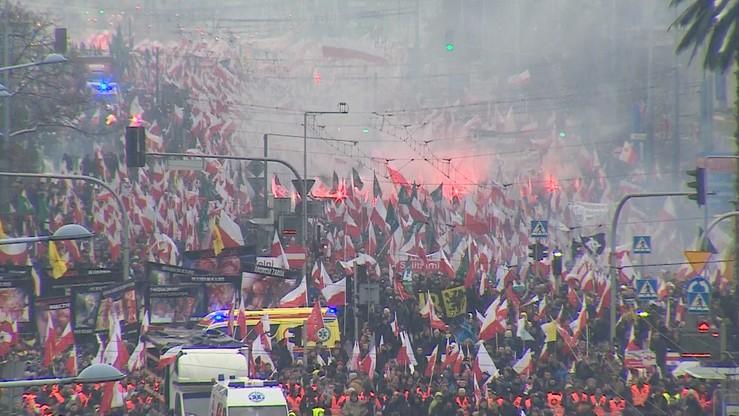 Umorzono śledztwo ws. spalenia flagi w Święto Niepodległości