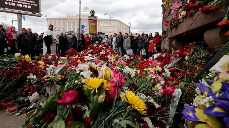 Media: w Petersburgu zatrzymano wspólników zamachowca z metra