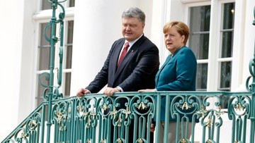 20-05-2017 16:01 Angela Merkel zapowiada nowe rozmowy o Ukrainie