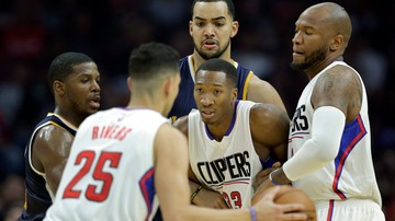 2016-11-15 NBA: Clippers nie zwalniają tempa