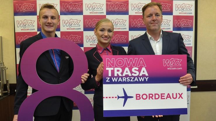 Wizz Air zapowiada nową trasę i więcej lotów z Polski